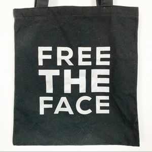 Free The Face black tote by Bare Minerals